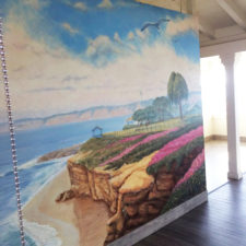 Rik Erickson mural depicting La Jolla Cove