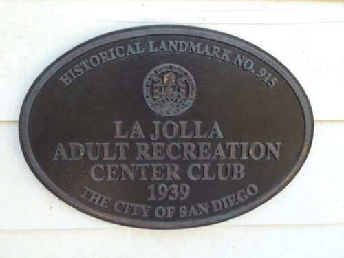Historical Landmark marker # 915 makes us a protected part of La Jolla History