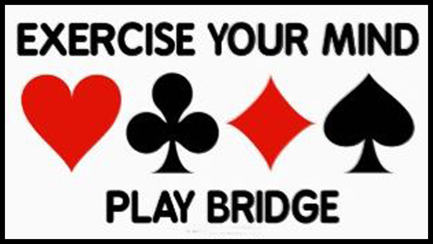 Click for information on playing bridge and club membership